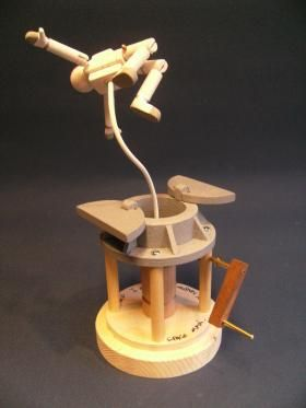 Space Man Keith Newstead Automata Kinetic Toys