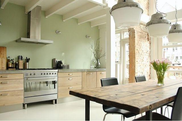 Best Mooie Kleur Groen Zorgvuldig Histor Keuken Interieur 400 x 300