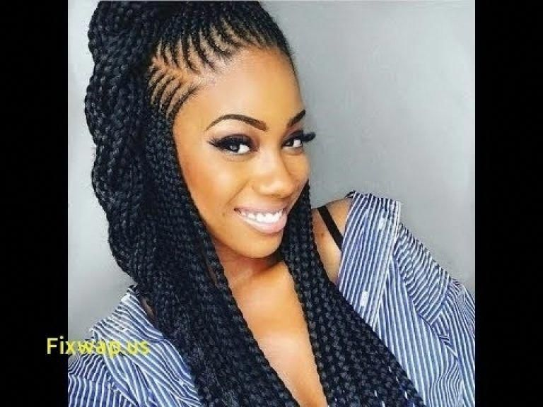 Cornrow Hairstyles 2018 Straight Back African Hairstyles