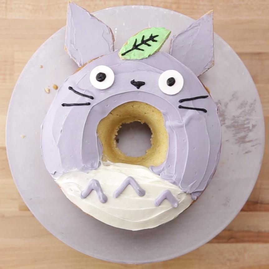 Giant Totoro Donut