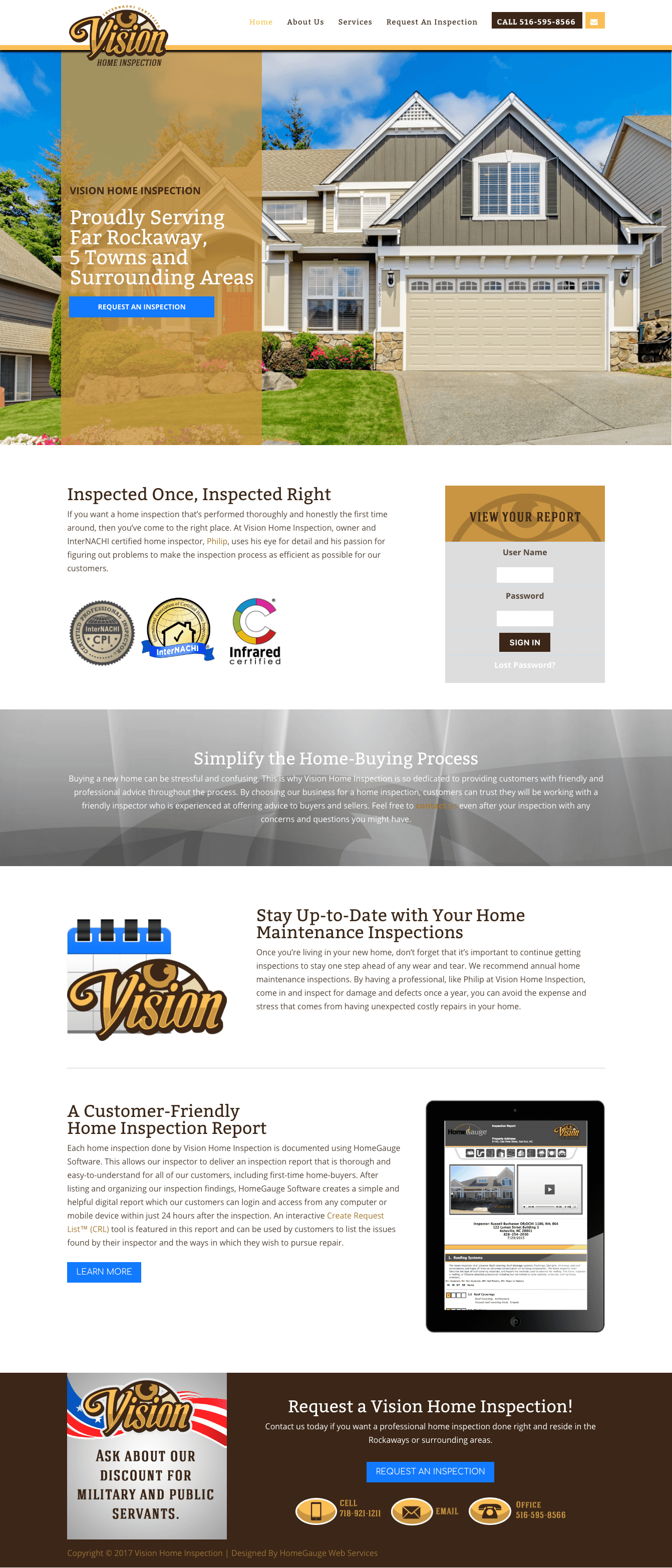 Home Inspection & Inspector Flyer & Ad Template | Graphic Design ...