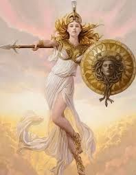 Athena Goddess Of Knowledge Strategy And Wisdom Can She And Poseidon Team Up Against Ares Mitologia Grega Mitologia Grega Deuses Deusa Grega