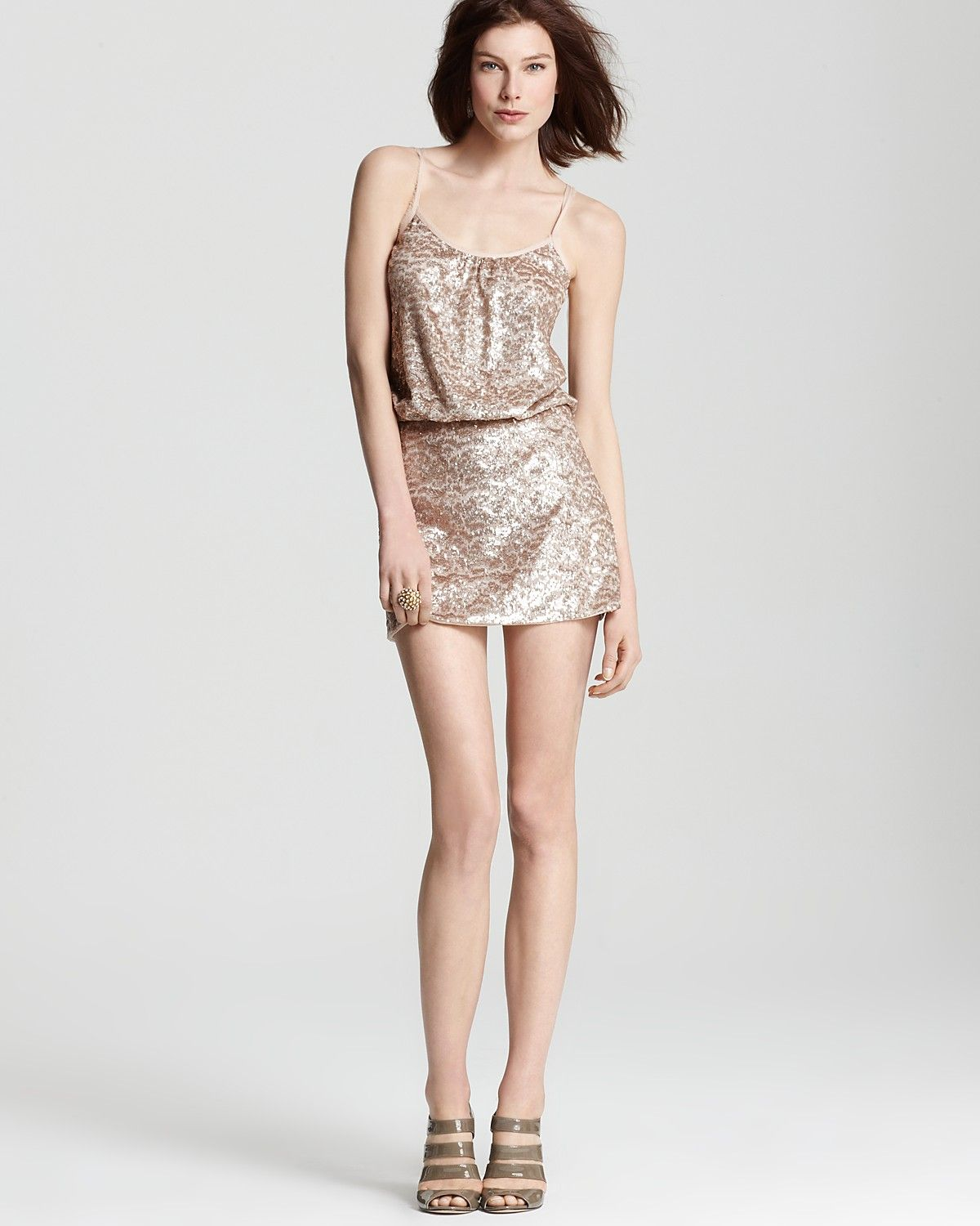 Rebecca Taylor Sequin Dress - Cami | Bloomingdale's | wanted ...