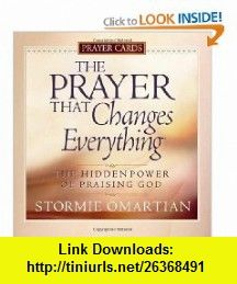 The Prayer That Changes Everything Prayer Cards The Hidden Power