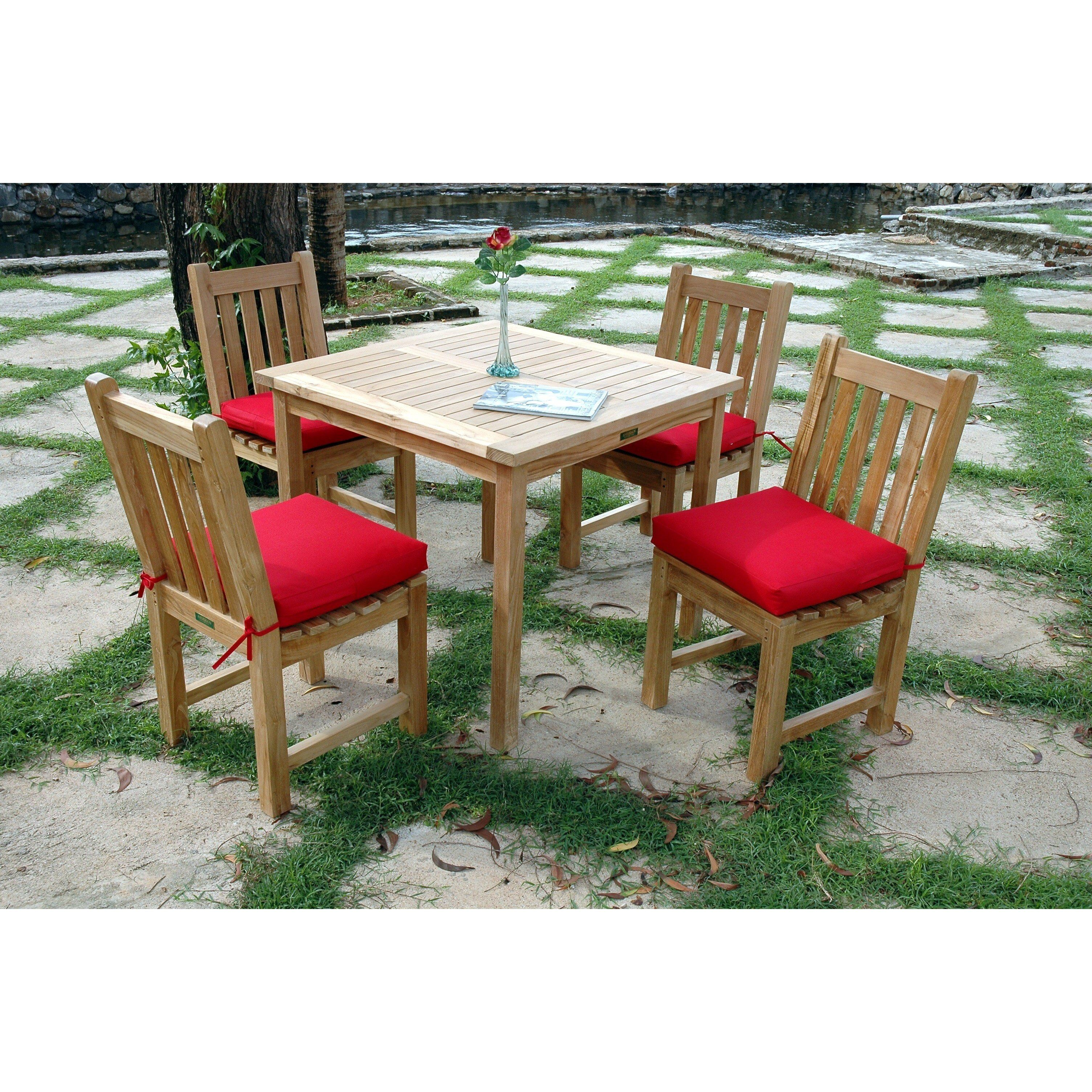 Photo of Bahama Classic 5-pieces Dining Set – True Blue – Add extra $…