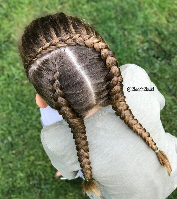 Hairinspiration Kam Von Abella&039;S Braids Sie Verwendeten 4 Strang Braids, Ich Vereinfache ... - Mary Haircuts Abella - Hair Beauty