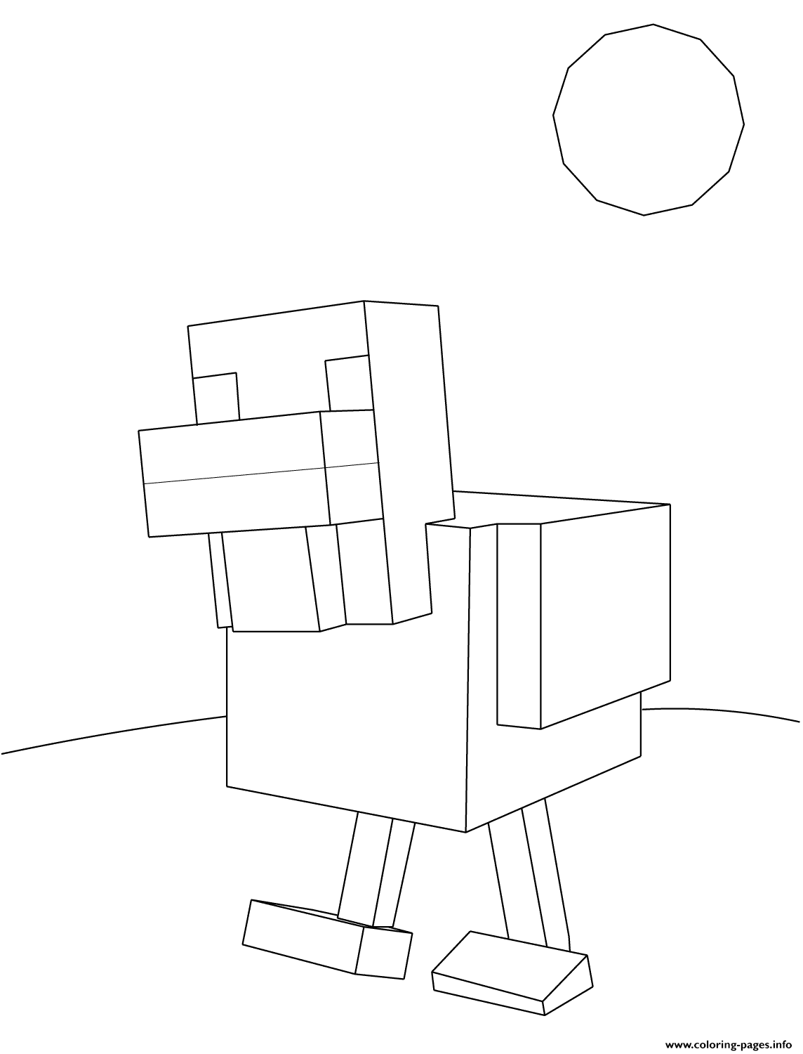Pin By Scribblefun On Minecraft Coloring Pages