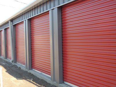 Commercial Steel Garage Roll Up Doors and Roll Up Doors for Self Storage Buildings. View Our Online Selection at http://metalbuildingdoors.com #doors #ministorage Call 1-800-486-8415