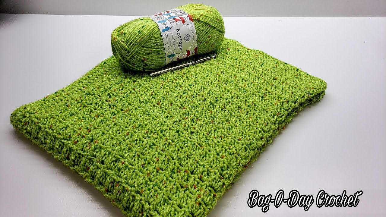 How To Crochet A Baby Blanket Lil Dreamers Crochet Blanket Bag O Day Crochet Tutorial 596 Yo Easy Crochet Baby Crochet Blanket Easy Crochet Baby Blanket