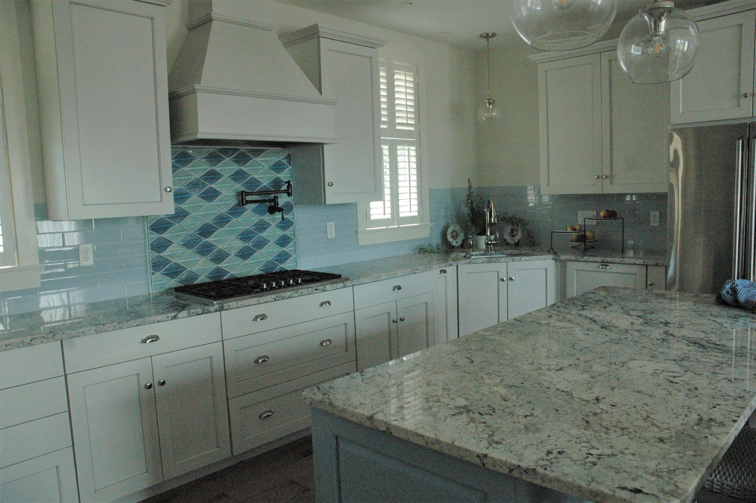 Kitchen Backsplash Elevations - Interior Design 3d •