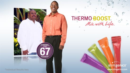 Do you need more energy? Thermo-Boost is a scientifically-formulated supplement beverage that combines some of nature's most powerful flavonoid antioxidants with key vitamins and metabolic enhancers your body needs during weight loss. Thermo-Boost will help you reach your goal weight faster. That's a hit in our book. #weightloss www.slimgenics.com