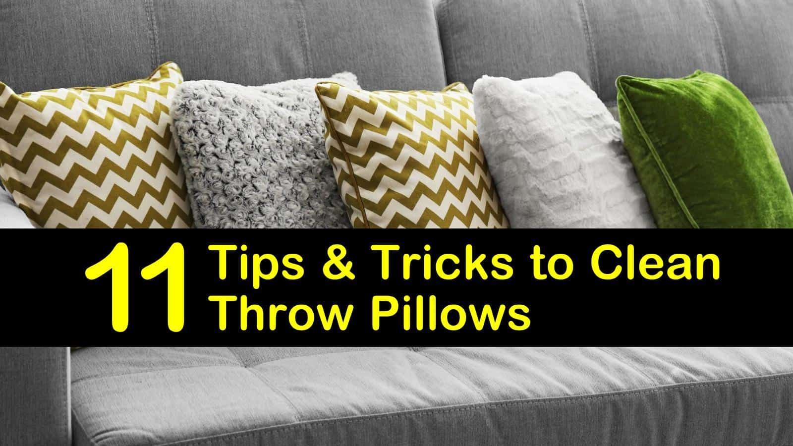 How To Wash Polyester Throw Pillows Without Removable Cover Selimiyemosque Bestpillow How To Wash Throw Pillows Throw Pillows Suede Throw Pillows How to clean throw pillows