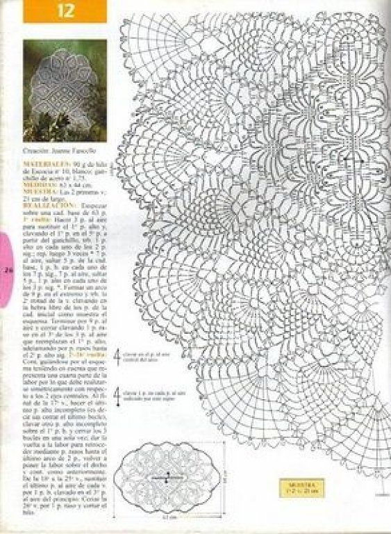 PATRONES PARA TAPETES EN CROCHET O GANCHILLO | patrones de ganchillo ...