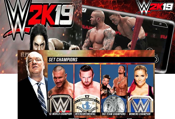 Download And Setup Wwe 2k19 Apk Obb Mod For Android Wwe Game Download Wwe Game Download Free