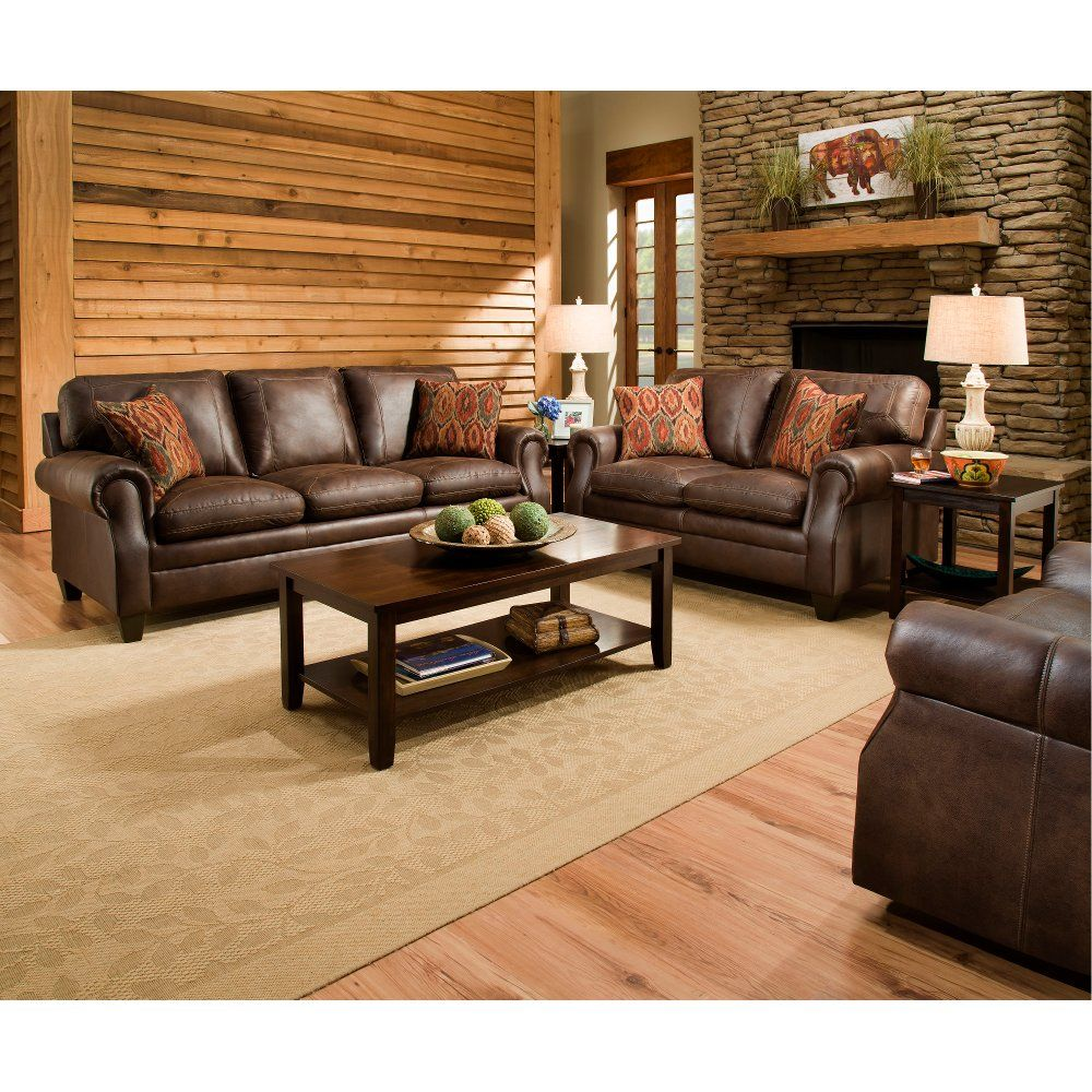 Classic Traditional Brown 2 Piece Living Room Set Shiloh Rc Willey Furniture Store Living Room Decor Brown Couch Brown Living Room Decor Brown Living Room #rc #willey #living #room #furniture