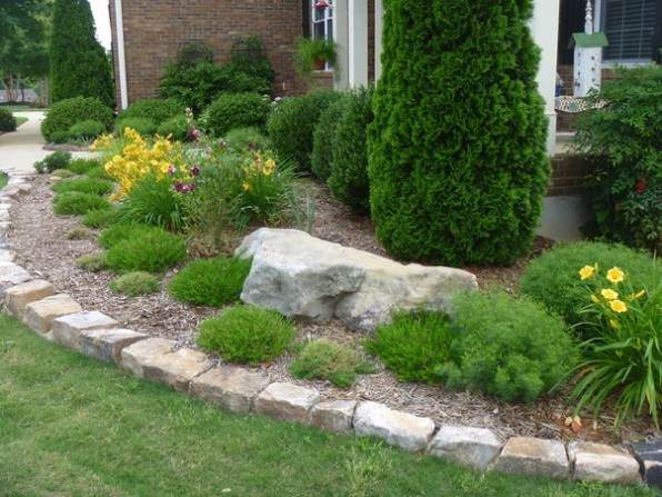 Image Result For Edging Stone Landscaping With Rocks 400 x 300