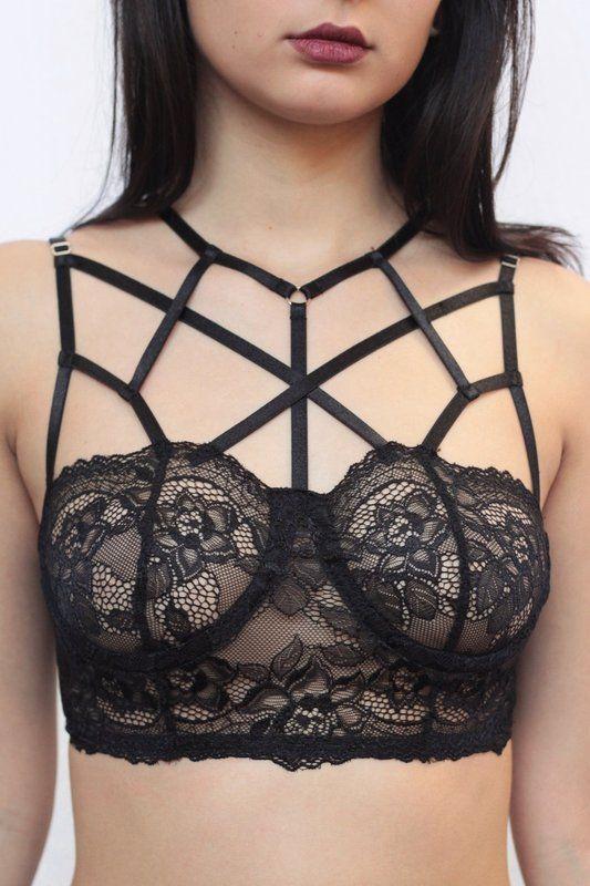7ee1cfa15 Strappy bra  Saiba como usar