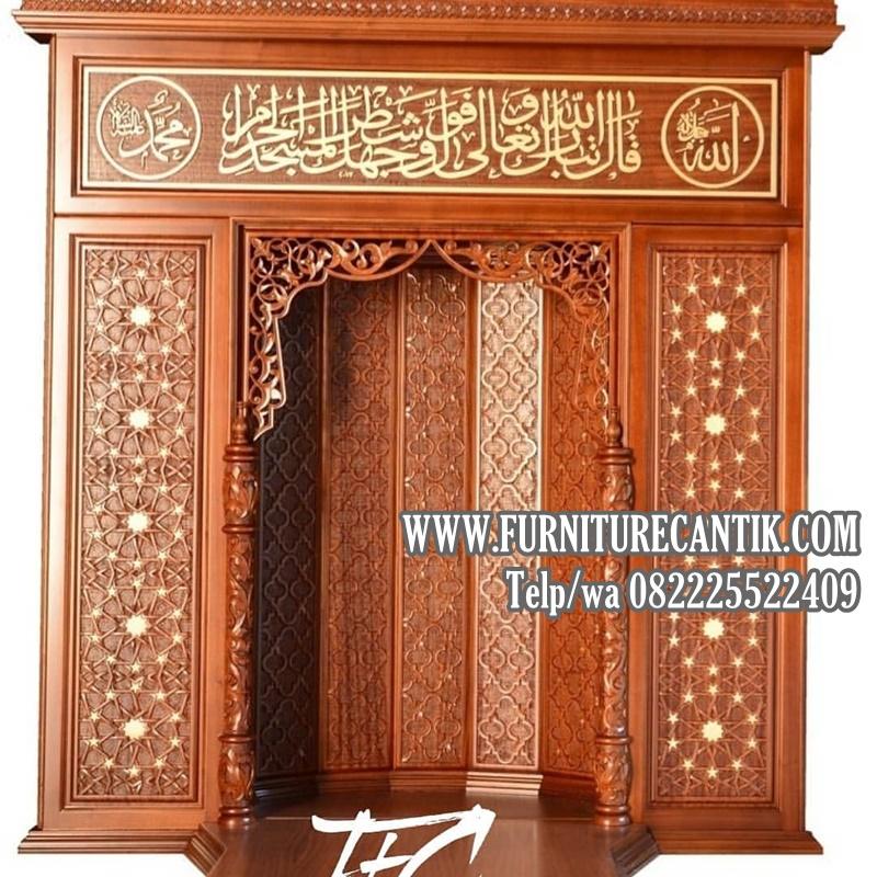 pintu kusen masjid kayu jati palangkaraya kayu kayu jati rumah mewah pinterest