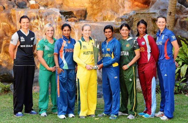 Cricket Team Captains From The Women S Cricket World Cup Cricket Teams India Cricket Team Sports Women