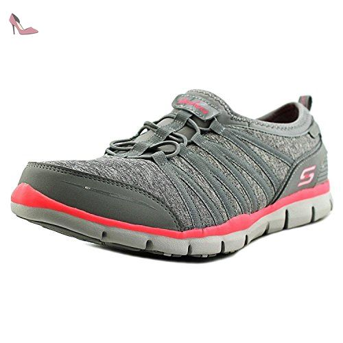 Chaussures Off Gratis It En Baskets Gris Skechers Shake Pour Femme EIDH29