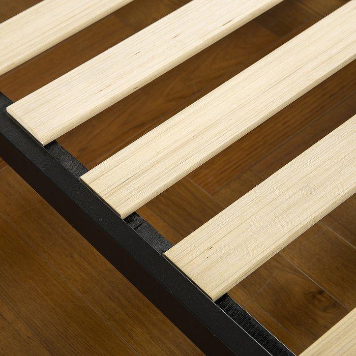 Makai Platform Bed Wood Platform Bed Headboard