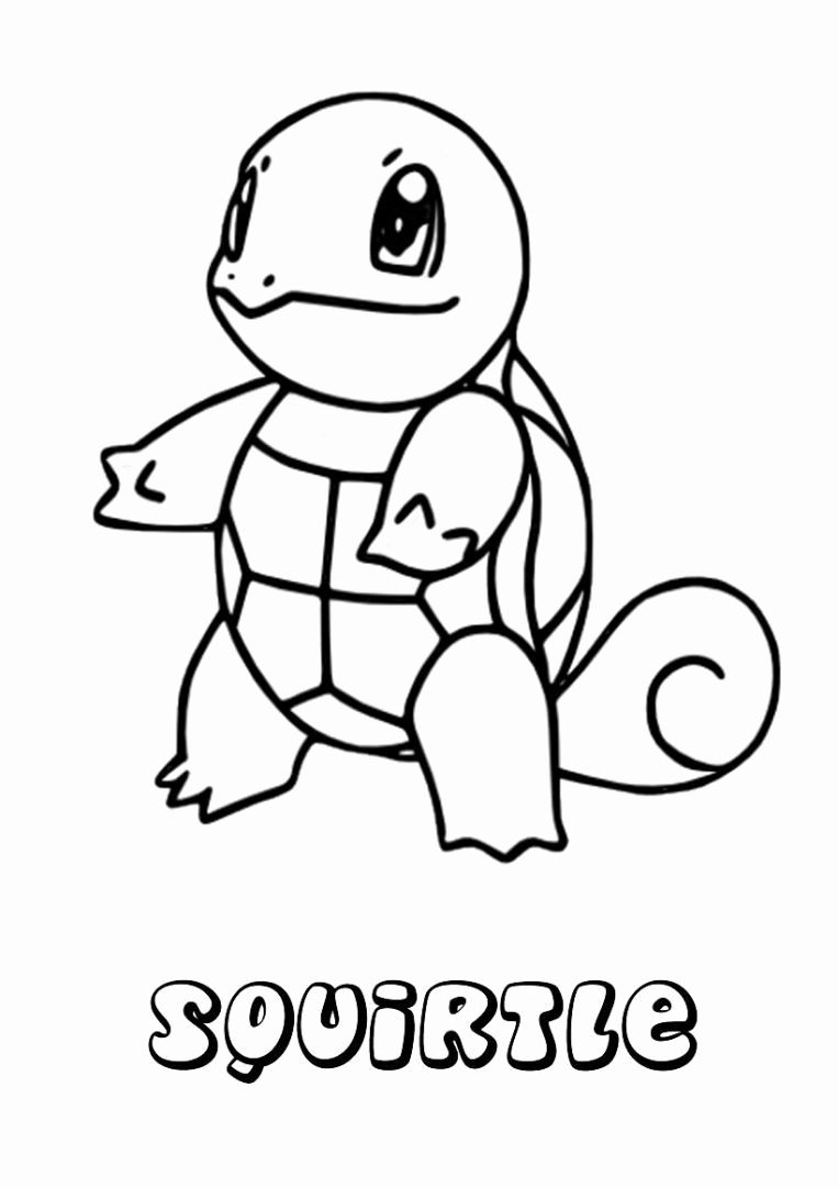 Squirttle Pokemon Kids Coloring Pages Pokemon Coloring Pages Pokemon Coloring Pikachu Coloring Page