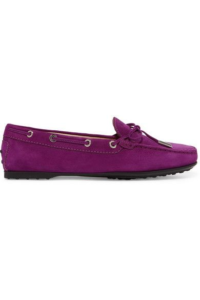 Tod's Gommino City loafers - Pink & Purple