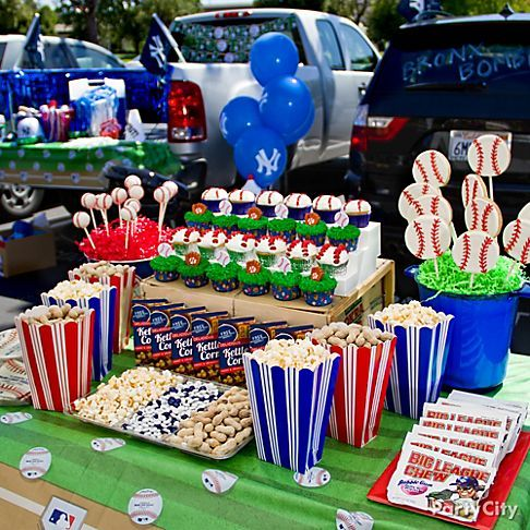 Tailgate Party Decorations  Kids Baseball Party Ideas Gallery