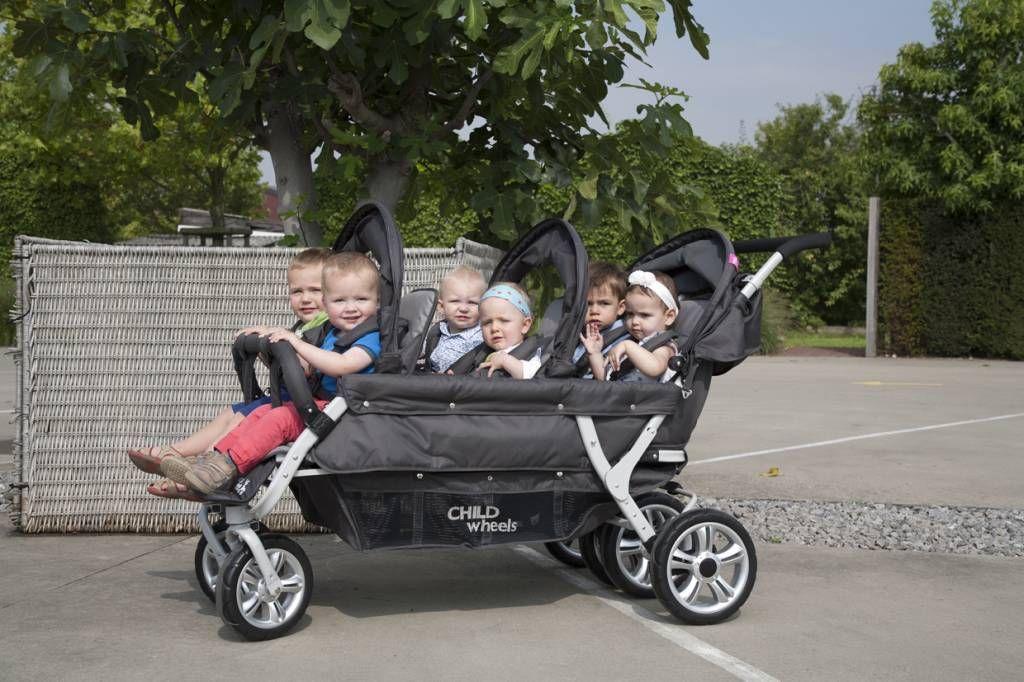 Childwheels Quadruple Sixseater Zeslingwagen