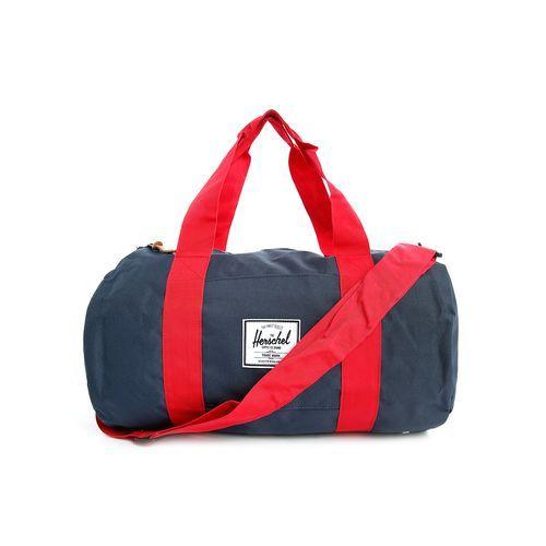 pour acheter votre herschel sac de sport bleu marine et rouge sutton mid pour homme toile. Black Bedroom Furniture Sets. Home Design Ideas