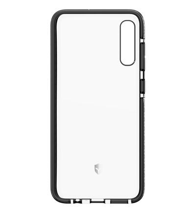 Coque FORCE CASE Samsung A70 Antichoc gris Force Case transparent