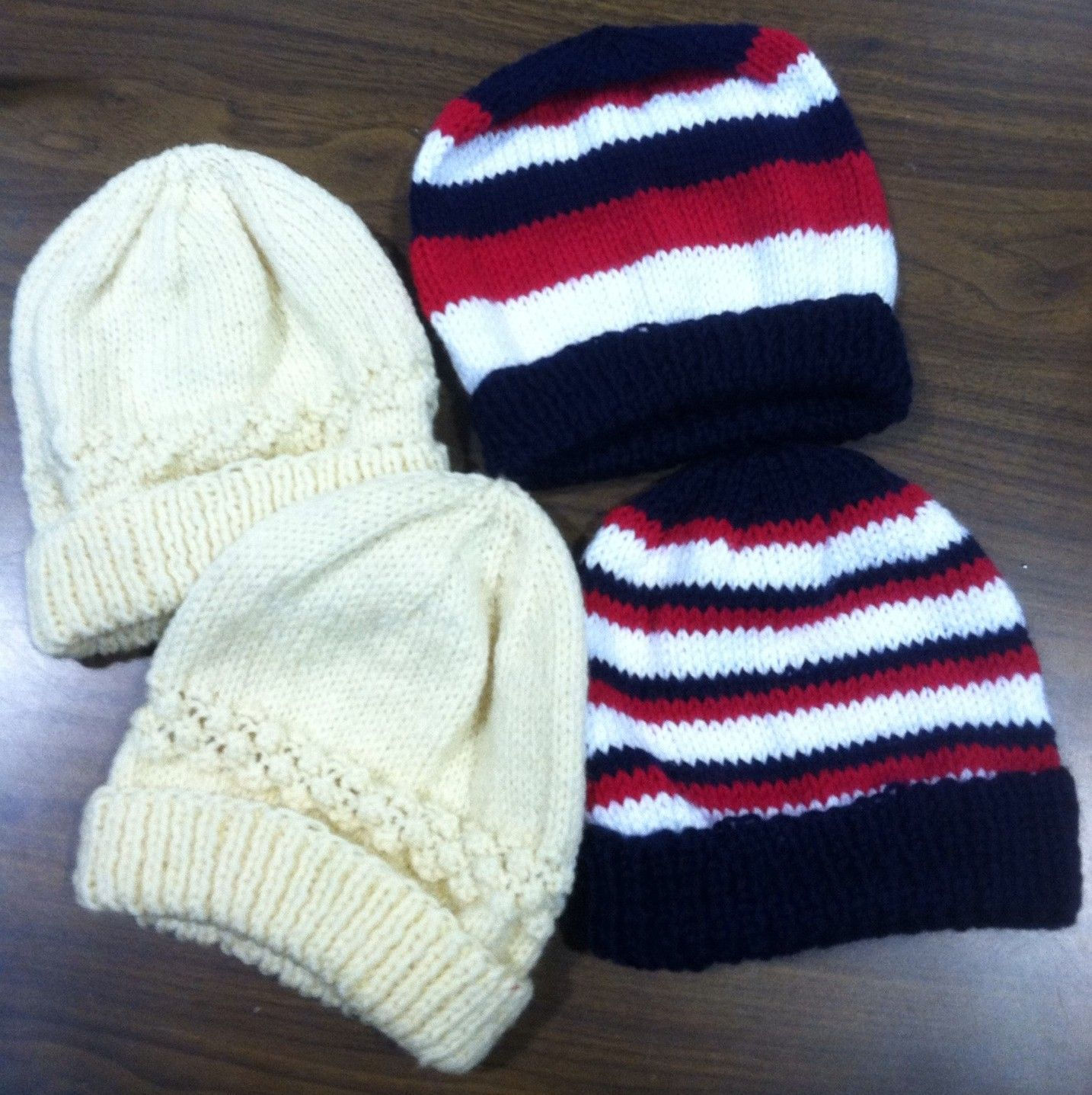 006f0875364 Hand knitted hats are great for Operation Christmas Child shoe boxes ...