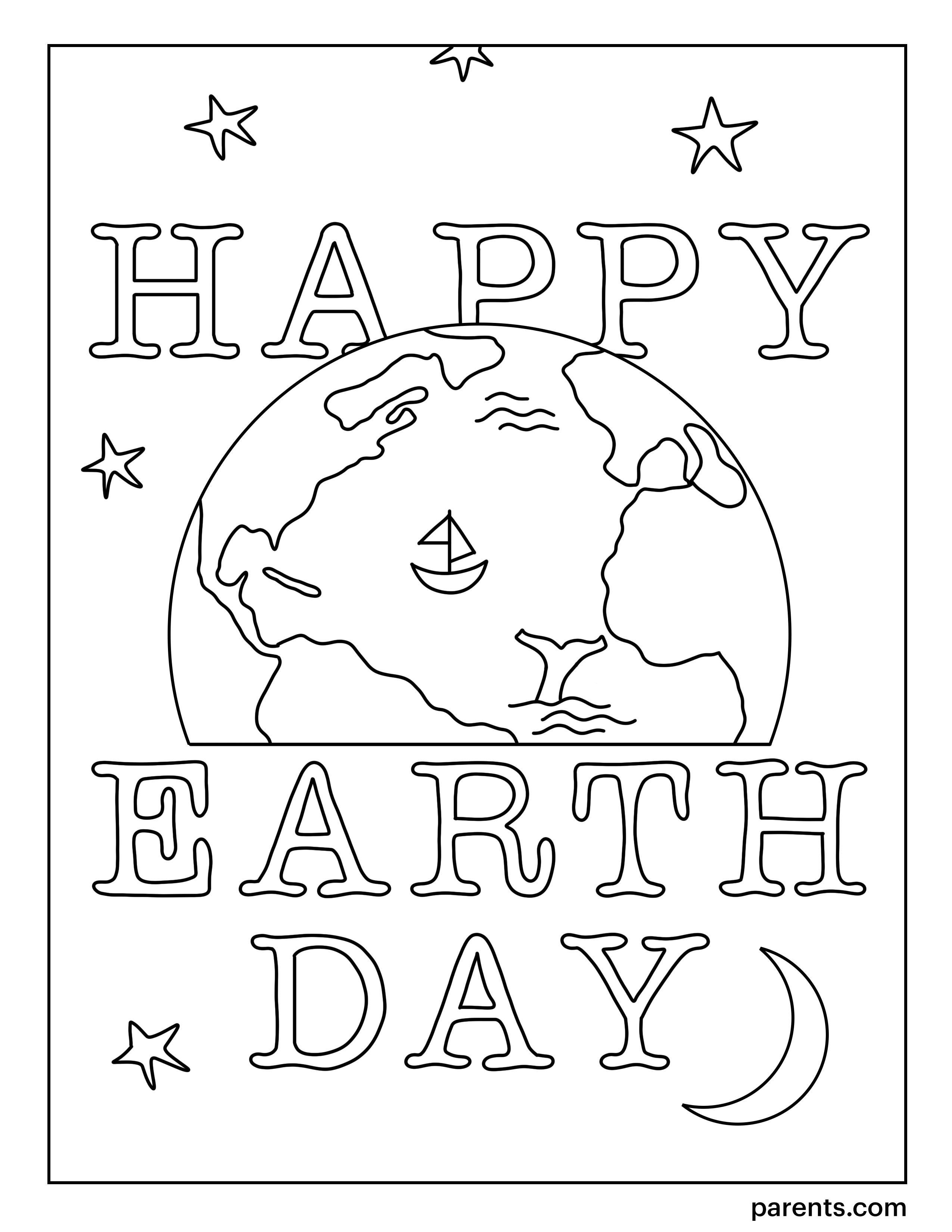 10 Free Earth Day Coloring Pages For Kids In 2021 Earth Day Coloring Pages Love Coloring Pages Coloring Pages