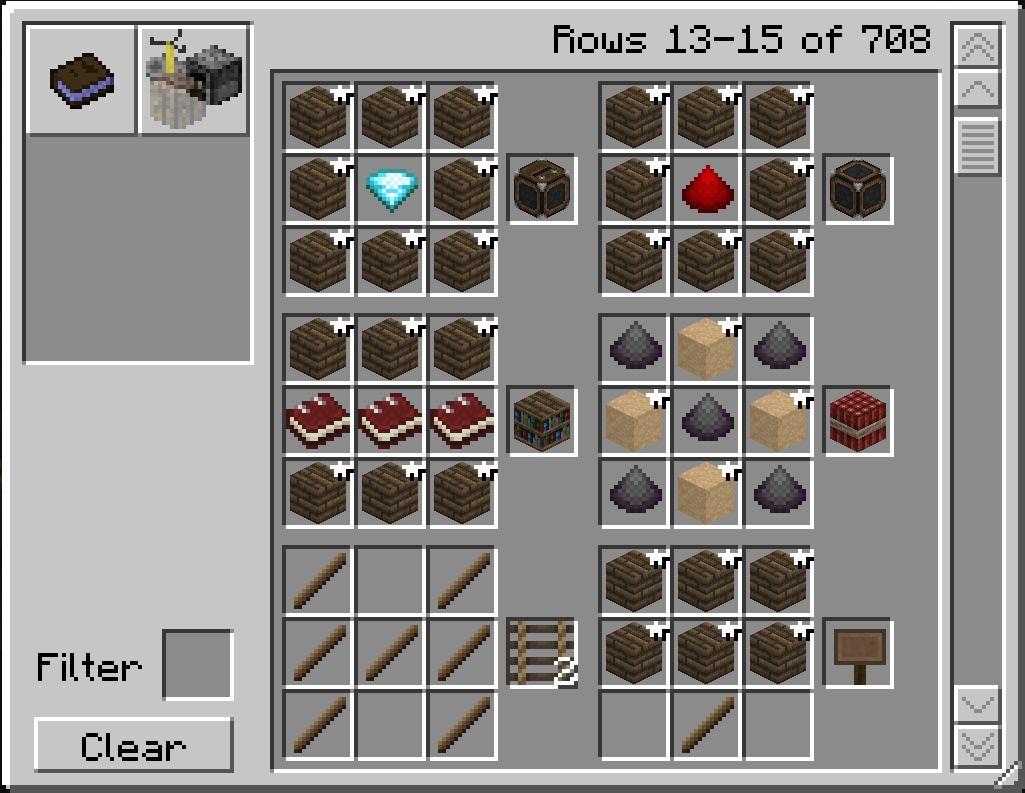 Minecraft basic items basic crafting recipes more