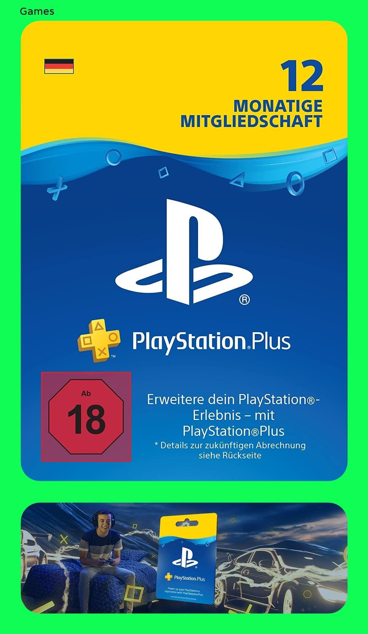 Playstation Plus Mitgliedschaft 12 Monate Ps4 Download Code Deutsches Konto Ps4 12 Code Deutsches Download Konto Playstation Spielesammlung Ps4