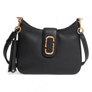 3aad50305e98 Marc Jacobs Black Leather Interlock Small Hobo Bag - 33% Off