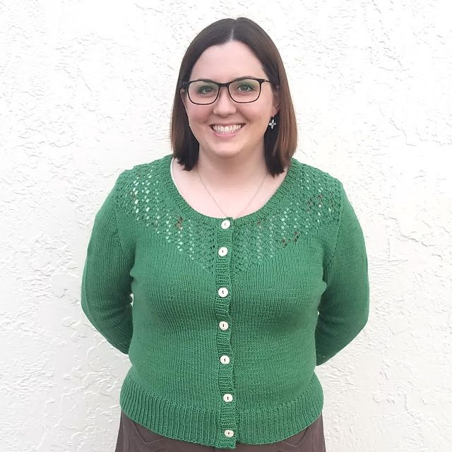 47cdfc211fd Anaheim Cardigan made by Show and Tell Meg - Outfit Along 2017