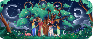 Today's 'Google Doodle' marks 45th anniversary of Chipko