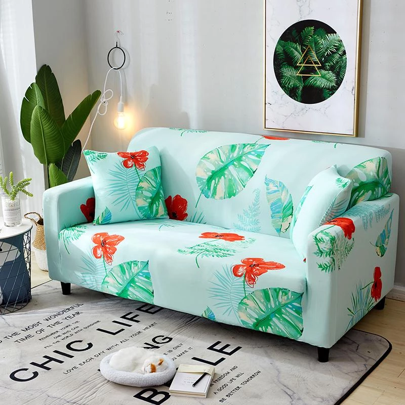 Jungle Patterned Sofa Cover