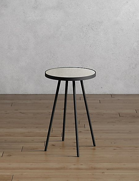 round metal glass side table in 2019 8 ashley gardens table rh pinterest com