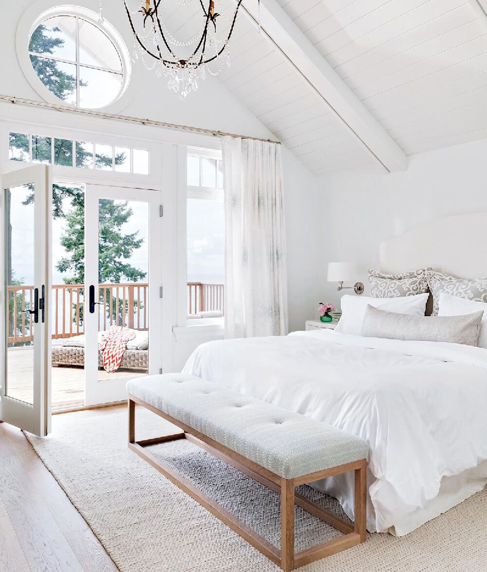End Of Bed Benches Emily Henderson Master Bedrooms Decor