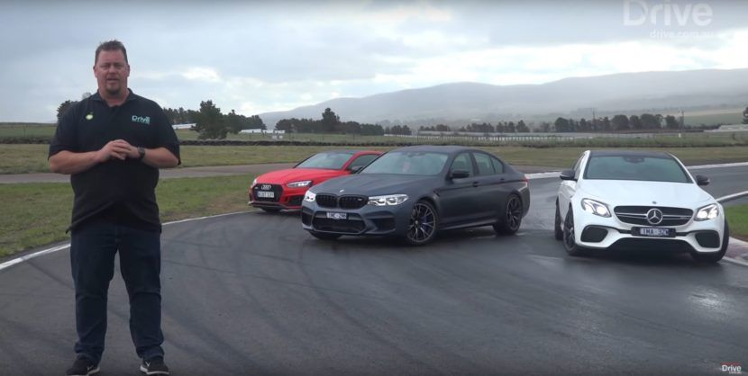 video test pits bmw m5 competition against e63 s amg and audi rs5 rh pinterest com