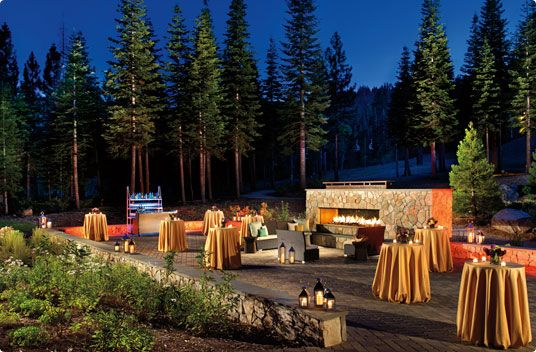 Wedding Venues At The Ritz Carlton Lake Tahoe Mid Mountain Northstar