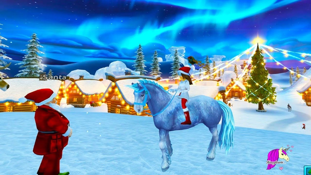 Color Changing Ice Unicorn Buying New Star Stable Horse In Christmas S Star Stable Horses Star Stable Horse Star