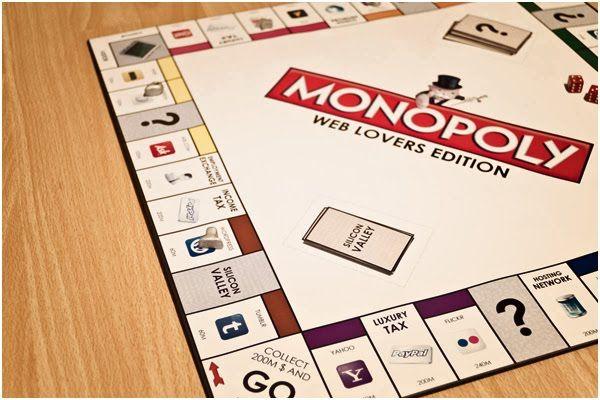 Monopoly para amantes de la web