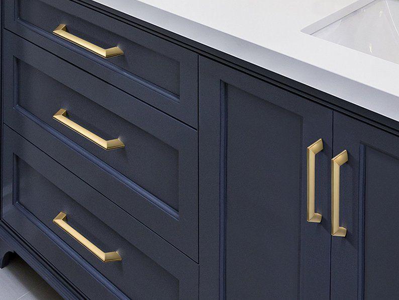 Gold Cabinet Handles Pulls Drawer Pull Handles Dresser Pulls Etsy Gold Cabinet Handles Cabinet Handles Kitchen Door Handles