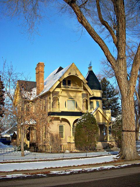 thomas robinson house 1895 florence colorado in 2019 rh pinterest com