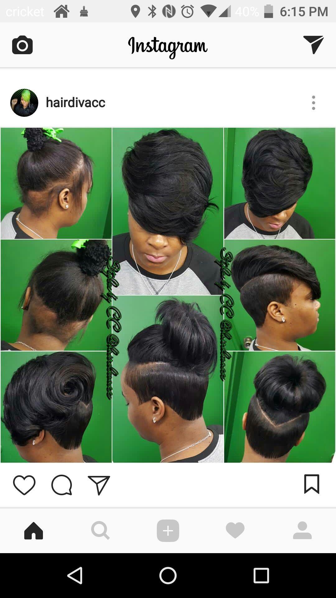 Like the back black girls hairstyles pinterest short hair