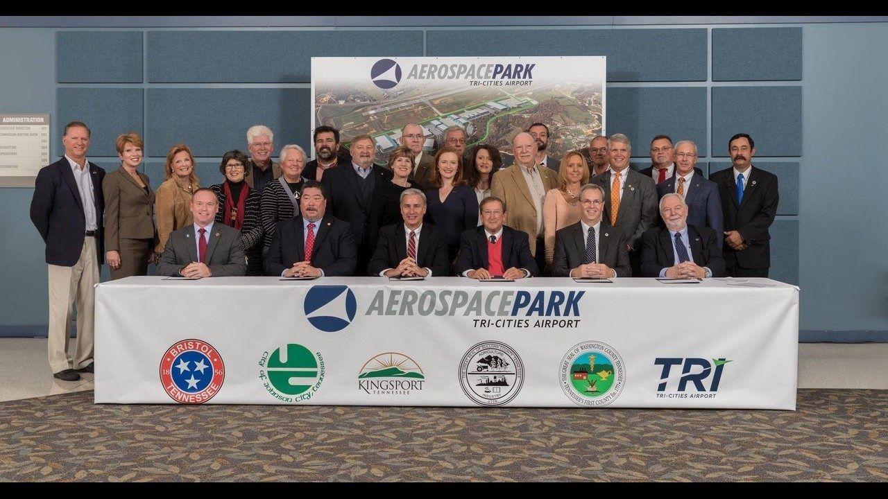 Regional leaders signoff on 8.5M bond for Aerospace park