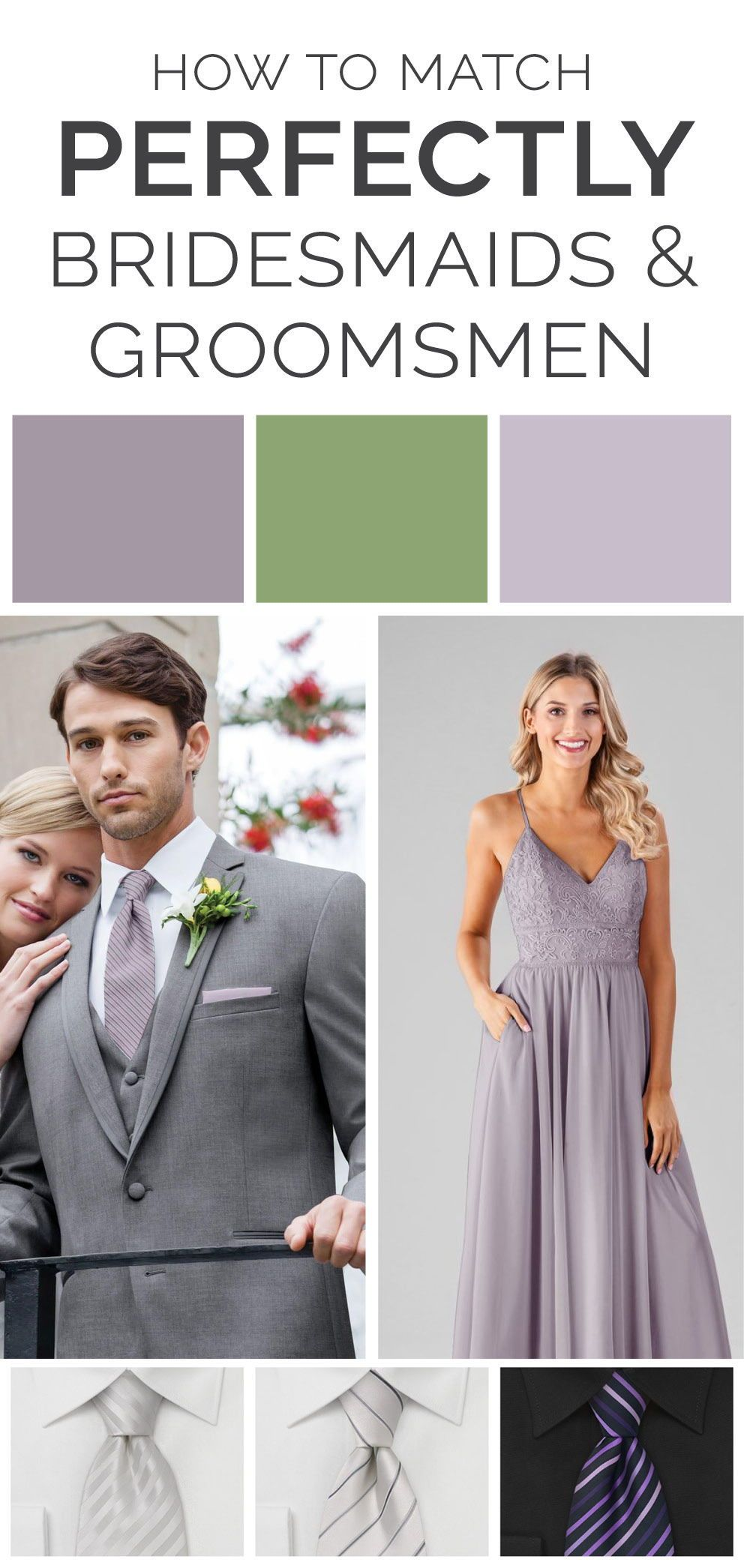 0fa8f526ce9 how to match bridesmaids and groomsmen